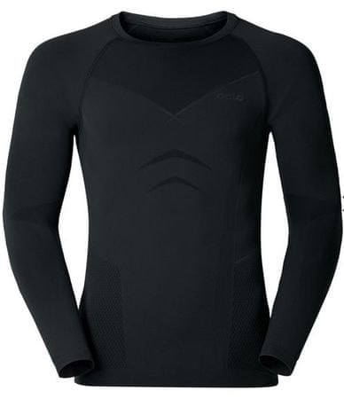 ODLO moška majica Evolution Warm, XXL, črna