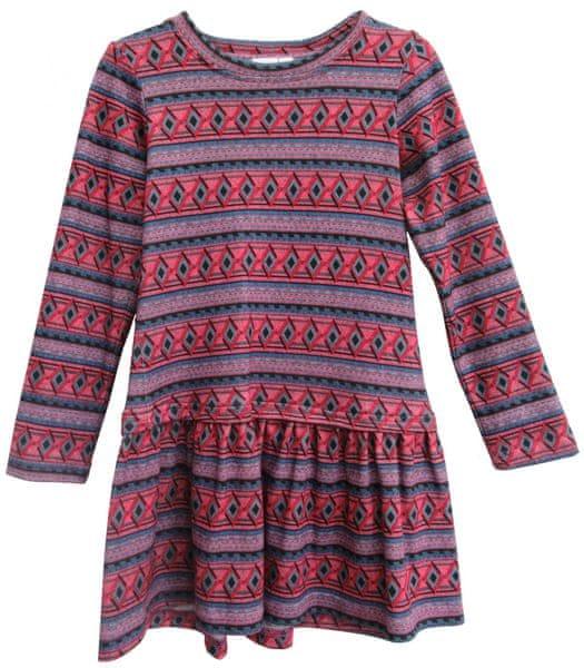 Topo dívčí šaty 98 červená