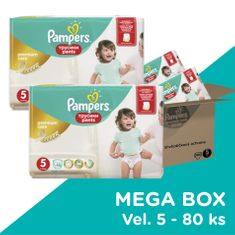 Pampers Premium Pants Mega Box S5 80ks