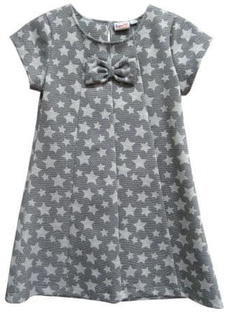 Topo dívčí šaty 98 šedá
