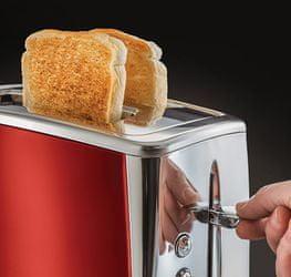 Russell Hobbs 23220-56/RH Luna Toaster 2SL Red