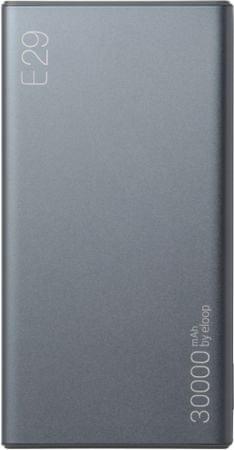 EPICO Powerbank ELOOP by E29, szürke 9915101900014
