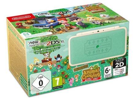 Nintendo New 2DS XL, Animal Crossing Edition (NI3H97280)