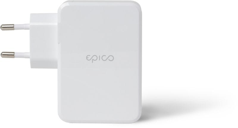 EPICO QUICK PD CHARGER with 3 USB ports - bílá 9915101100048