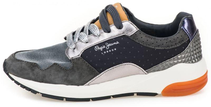 Pepe Jeans dámské tenisky Foster Itaka 36 šedá c8f9552ae5f