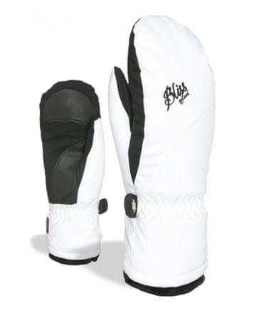 LEVEL Damskie rękawice narciarskie Bliss Mummies Mitt White-Clay 7,5 - S/M