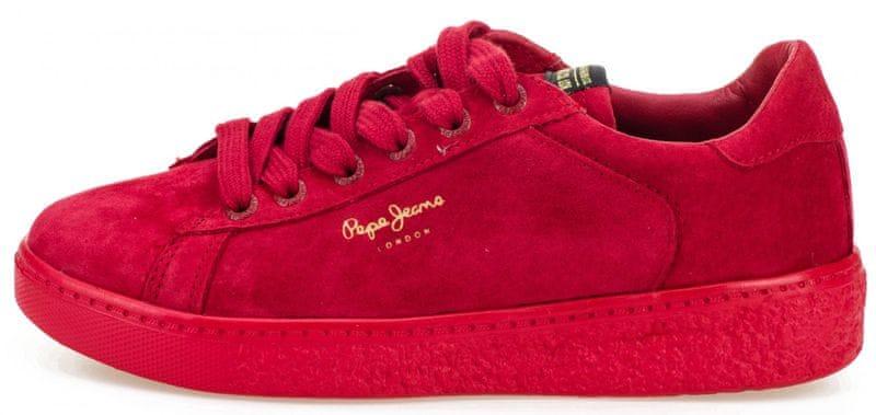 2321f770627e3 Pepe Jeans dámské tenisky Roxy Bass 36 červená
