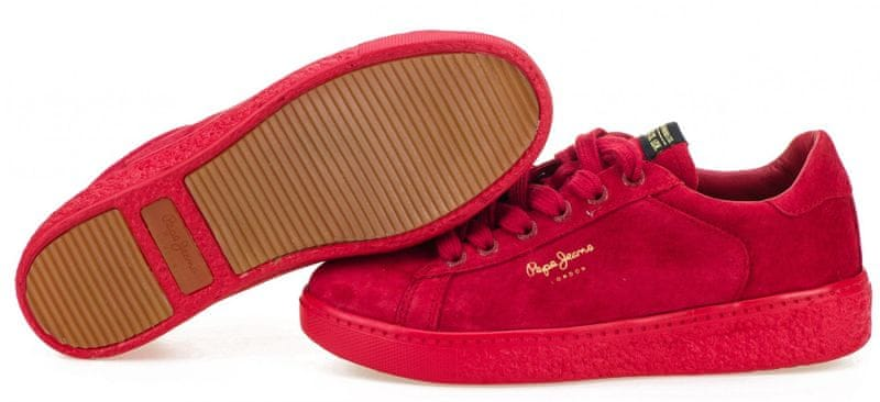 ... 5 - Pepe Jeans dámské tenisky Roxy Bass 36 červená 4f18b446b23