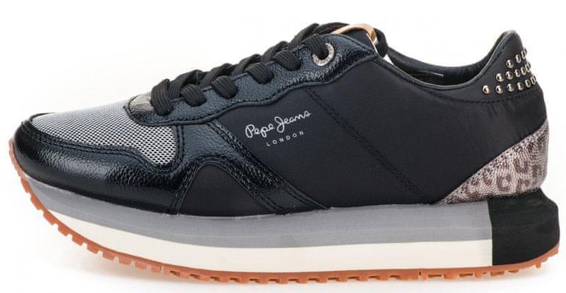 Pepe Jeans dámské tenisky Zion Studs 36 černá  08791fc4d19