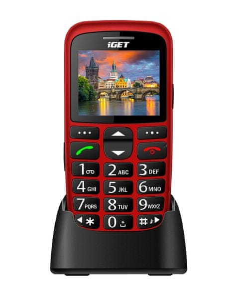 iGET Simple D7, Red
