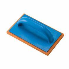 Ausonia gladilka za fugiranje keramičnih ploščic z oranžno gobico, 21x14cm, plastičen ročaj