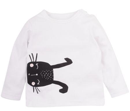 Garnamama dziecięca koszulka Rabbit 68 biały