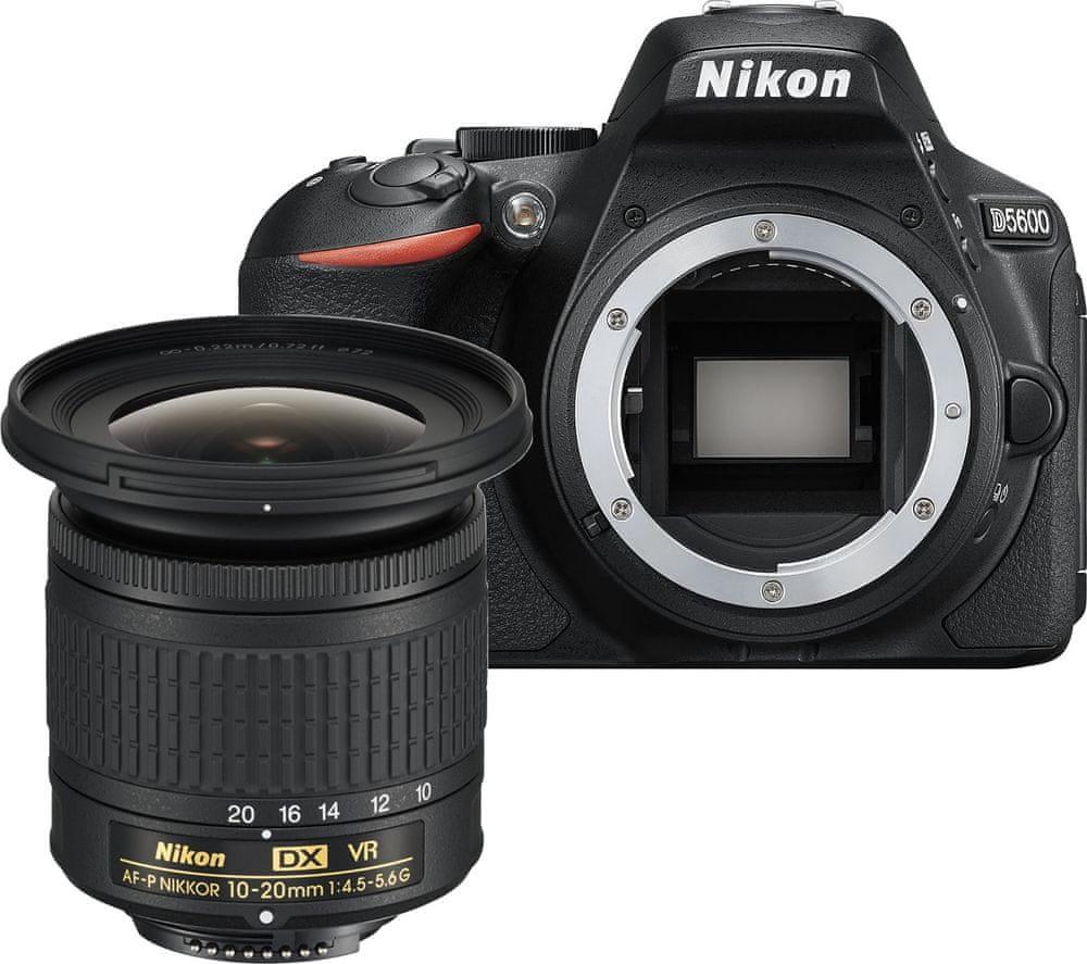 Nikon D5600 + 10-20 AF-P DX VR (VBA500K013)