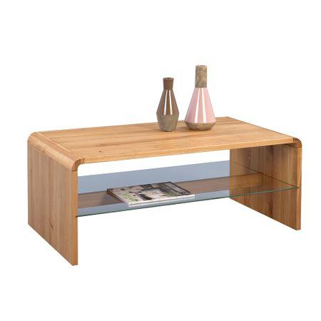 Artenat Konferenční stolek Ontario, 109 cm, masiv divoký dub