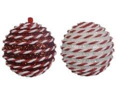 Kaemingk Set 12 ks vánočních ozdob, pěnový polystyren