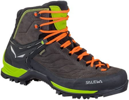 Salewa moški pohodniški čevlji Ms Mtn Trainer Mid Gtx 0974, rjavo zeleni, 40,5
