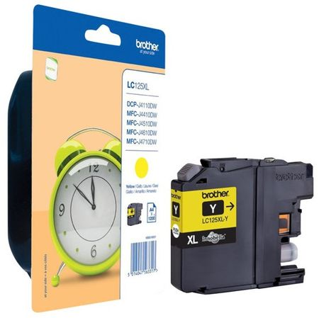 Brother tinta LC125XL, yellow
