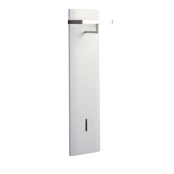 Artenat Nástěnný věšák Cirus, 110 cm, bílá