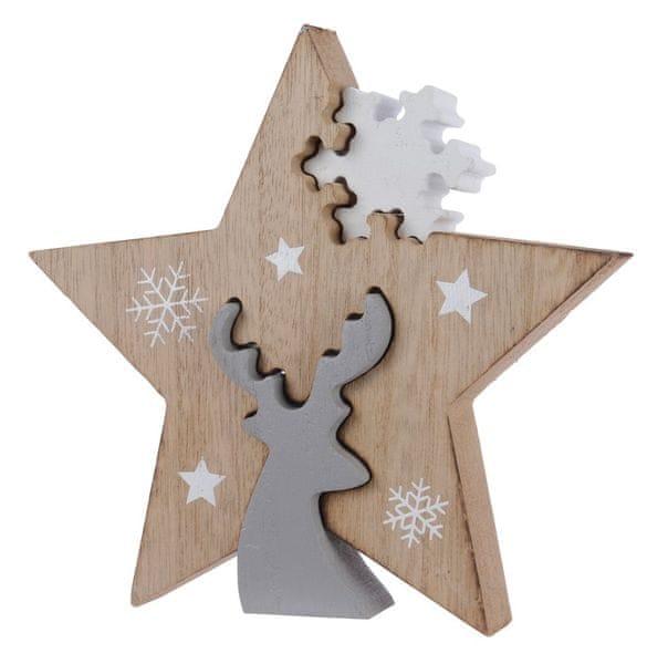"""Kaemingk Vánoční dekorace """"Hvězda"""""""