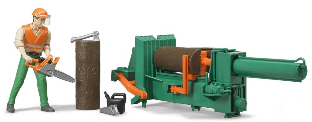 Bruder 62650 lesnický set pro těžbu dřeva