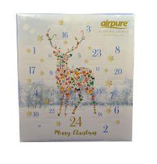 Airpure Adventní kalendář vonných svíček Jelen