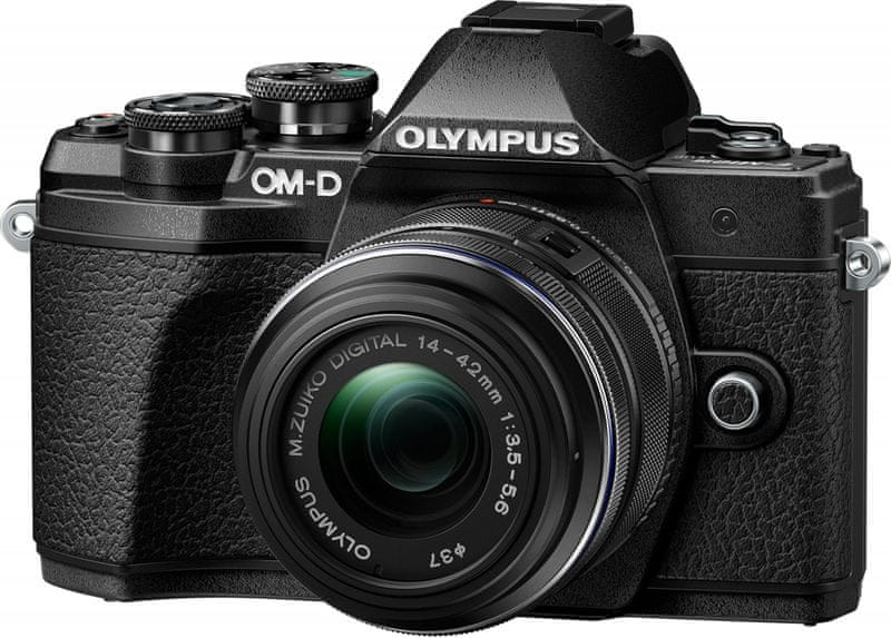 Olympus E-M10 Mark III + 14-42 II R + 40-150 R Black