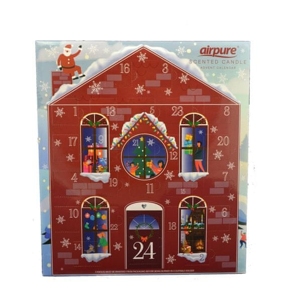 Adventní kalendář vonných svíček - Dům