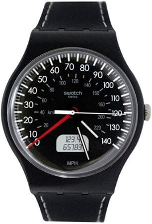 Swatch BLACK BRAKE SUOB117