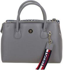 6e1bd0c08e Tommy Hilfiger Dámská kabelka Charming Tommy Med Work Bag Silver  Filigree Pow Check