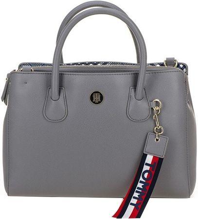 Dámska kabelka Charming Tommy Med Work Bag Silver Filigree   Pow Check 7cfddf29cd