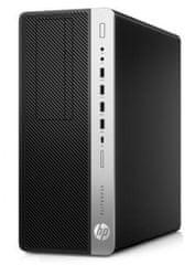 HP namizni računalnik EliteDesk 800 G4 TWR i5-8500/8GB/SSD256GB+1TB/W10P (4KW67EA#BED)