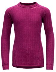 Devold Duo Active dekliška volnena majica, 152, roza