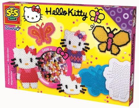 SES perle set Hello Kitty, 2400 kosov + torba