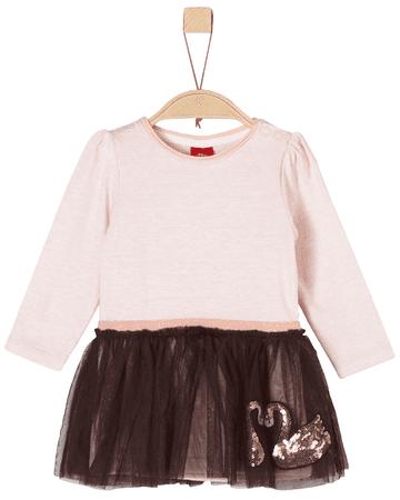 s.Oliver dívčí šaty 86 růžová