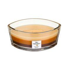 Woodwick Vonná svíčka Trilogy 453,6 g Dezert v kavárně