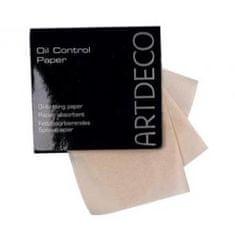 Art Deco Dokumenty kontrolowania skóry tłustej (papier sterowania olej) 100 sztuk