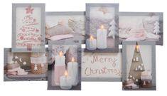 """Kaemingk LED svetelný obraz """"Koláž"""" Veselé Vianoce"""
