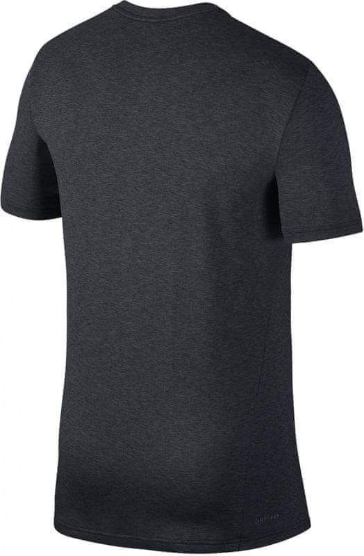 bfaf02cf25bb Nike M Nk Brt Top Ss Hpr Dry Logo Black Anthracite White M