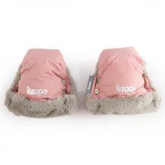 ZOPA Zimné rukavice Fluffy, Old Pink