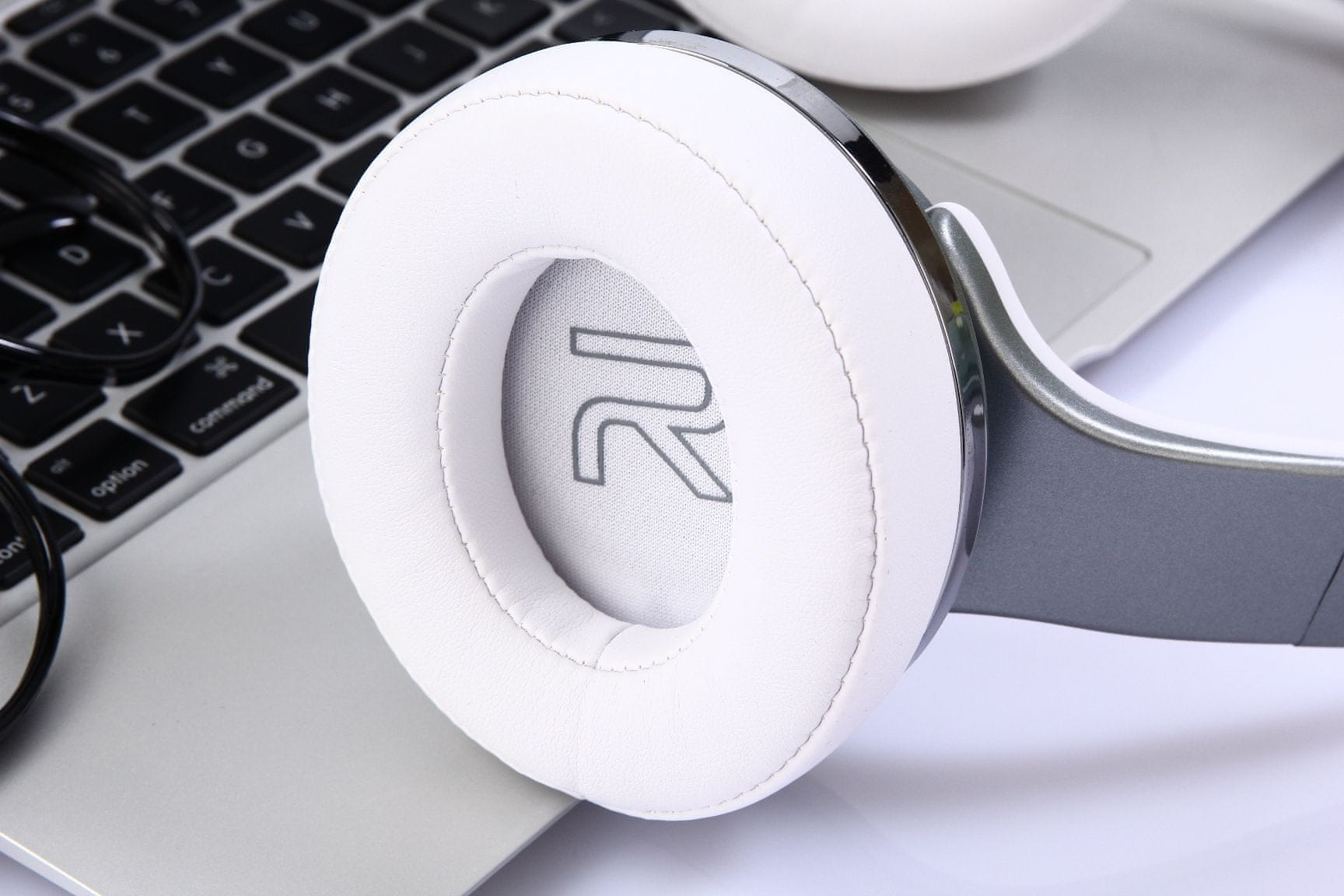 bezprzewodowe Słuchawki bluetooth głośnik Evolveo SupremeSound E9 dotykowy mikrofon tryb głośnomówiący sterowanie dotykowe na słuchawce
