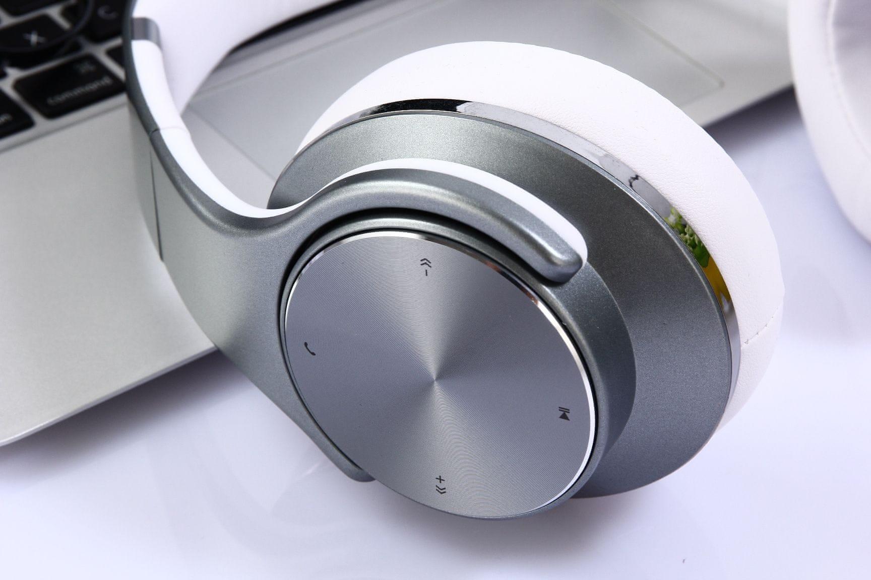Słuchawki Evolveo SupremeSound E9 3,5mm jack wymienny kabel długi czas pracy baterii 14h