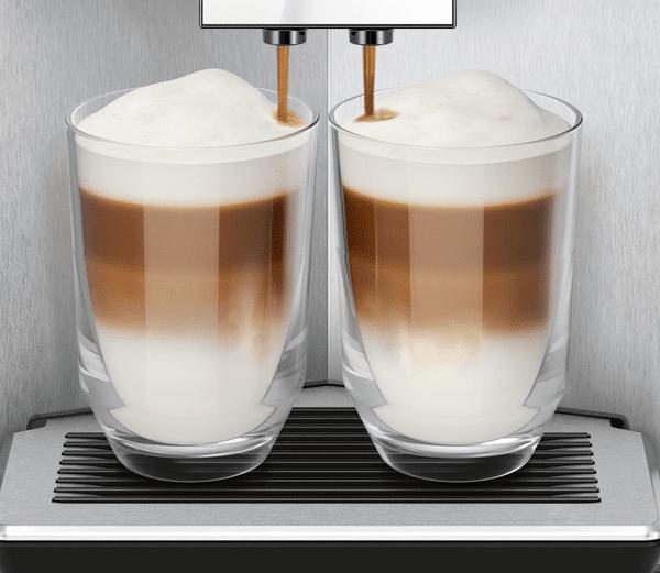 Kávovar Siemens TI9553X1RW aromaDouble Shot