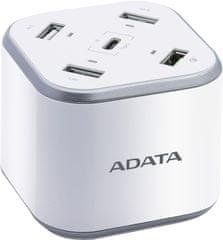 Adata USB Charging Station ACU0480QCPS-CEUWH