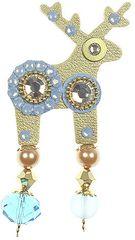Deers Malý modro-zlatý jelínek Simba