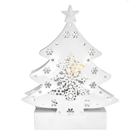 Solight LED kovový vianočný stromček