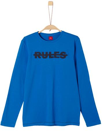 s.Oliver koszulka chłopięca L niebieski