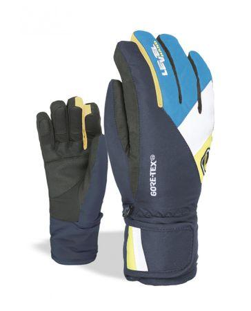 LEVEL Dziecięce rękawice narciarskie Force L czarny/niebieski
