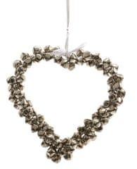Kaemingk dekoracja świąteczna Serce z dzwoneczkami