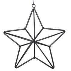 Kaemingk 3D dekorace hvězda - kovová