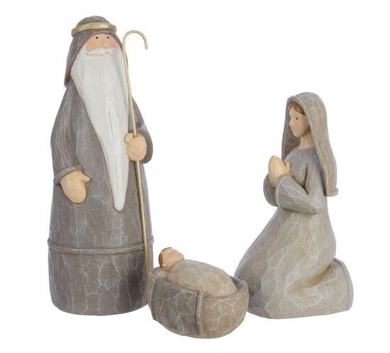 Kaemingk Vianočná dekorácia - figúrky betlehem